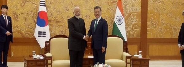 PM Modi holds talks with South Korean President Moon Jae-In