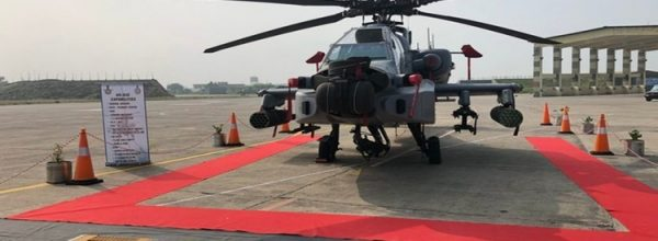 8 US made Apache attack helicopters inducted into IAF to enhance combat capabilities