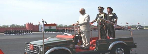 President Kovind presents prestigious Colours to Army Aviation Corps