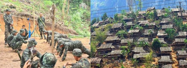 About 15 terrorist organizations in 'No Man Land' between Myanmar and India