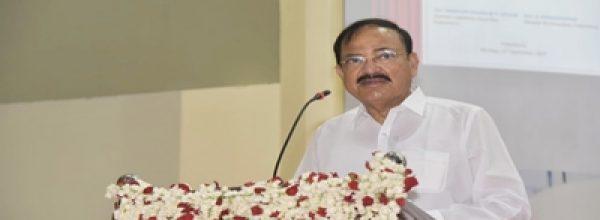 Vice President inaugurates solar power plant at Pondicherry University